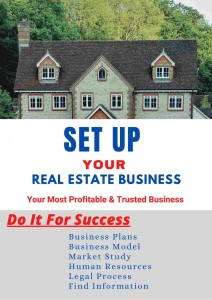 set up a real estate agency