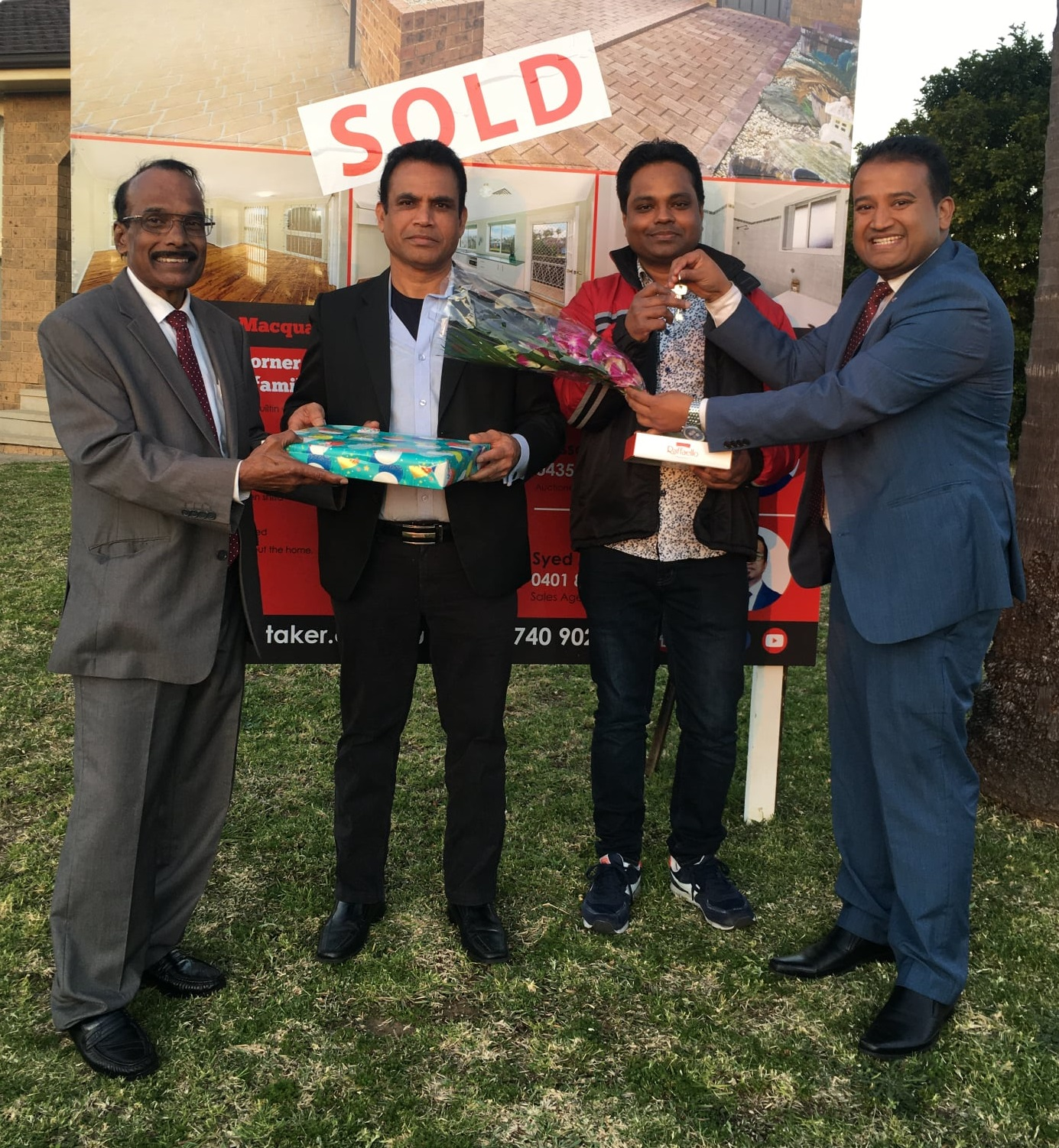 1 Ficus place macquaire fields NSW 2564 sold key hand over